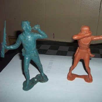 1960S TOY FIGURENES