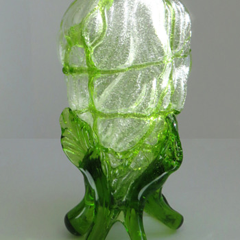 Kralik Silveria 'Flame' Vase - Art Glass