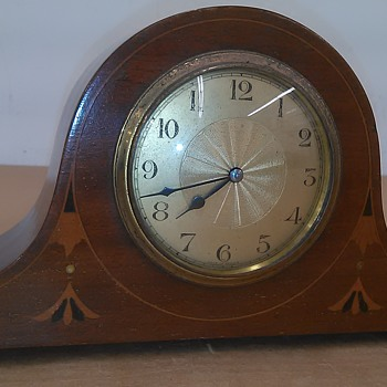 Cool old French small mantle clock