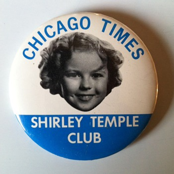 Shirley Temple Pinback