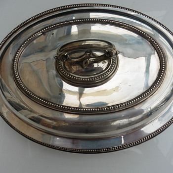 My favourite solid silver Entree dish ? Victorian