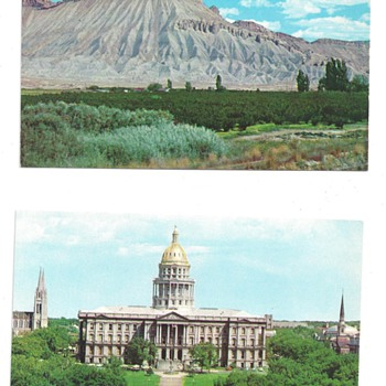 COLORADO POSTCARDS