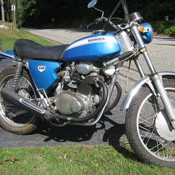 1970 Honda SL350 - Motorcycles