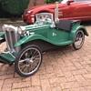 My latest creation mg tc pedalcar number three