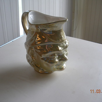Milk Pitcher - Art Pottery
