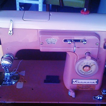 1958 Kenmore Sewing Machine - Sewing