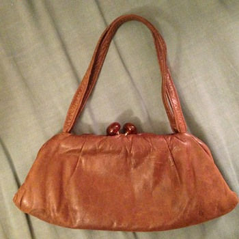 Small soft leather clutch - Accessories