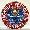 Magnolia/Magnolene Motor Oil Sign