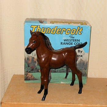 Marx Thundercolt from the Johnny West Series
