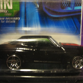 Very rare black interior Motown Metal 70 chevelle - Model Cars