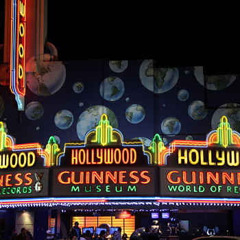 Old time neon signs in Hollywood. - Signs