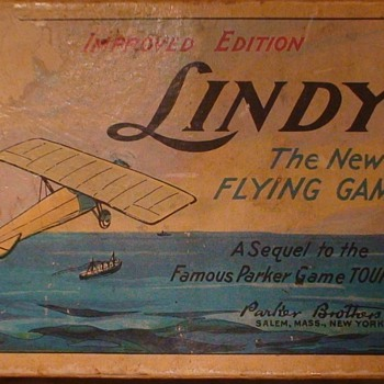 """Lindy""  Game By Parker Brothers - Advertising"