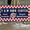 Old 8&#039; x 4&#039; Purina feed store sign 