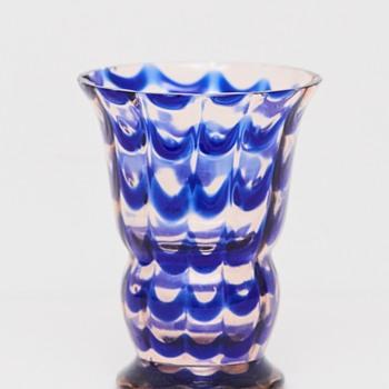 Art Deco Kralik Vase, 1930's