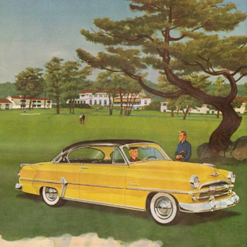 1954 - Plymouth Belvedere Advertisement - Advertising