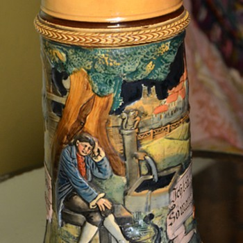 Beer Stein - any info? - Art Pottery