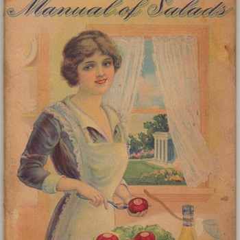 1914 - Yacht Club Manual of Salads - Books