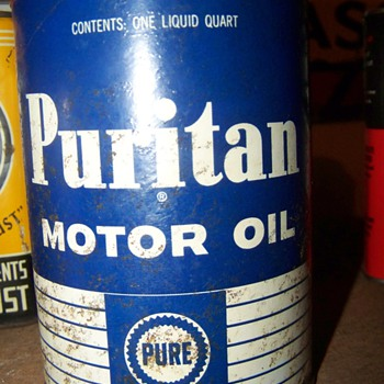 pure oil can - Petroliana