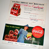 More Coca Cola Coupon Cards From The Late 30s
