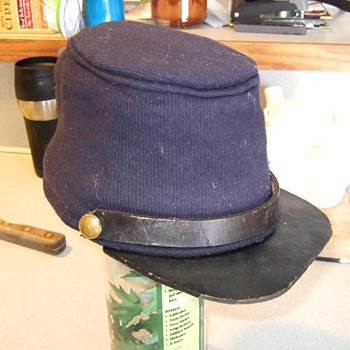 Confederate civil war hat