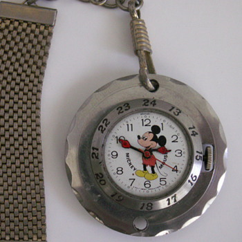 Pendant type Mickey - Wristwatches