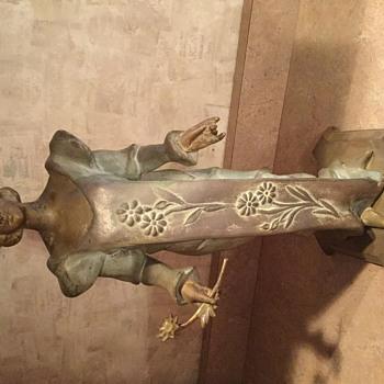 St. Cecelia statue