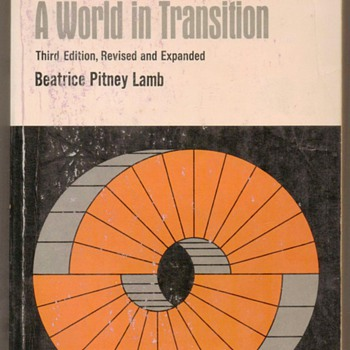 1972 - India - A World in Transition - Books