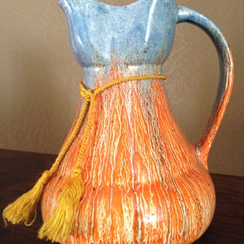 Wadeheath Art Deco Pitcher