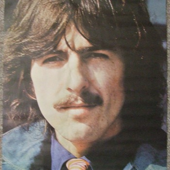 Vintage 1960&#039;s-Early 1970&#039;s Beatles-George Harrison Poster Collection - Music