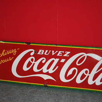 coca cola sign - Signs