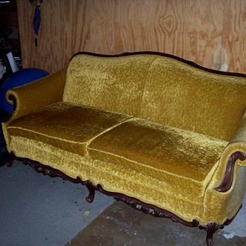 Grandmother's couch - Furniture