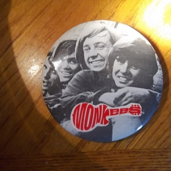 The Monkees button - Music
