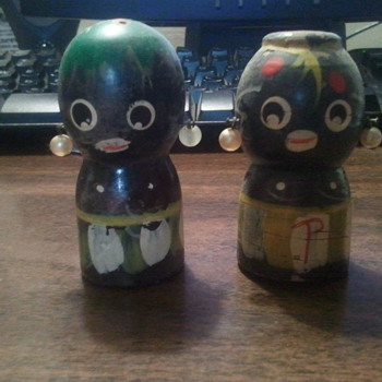 Ethnic Salt and Pepper Shakers