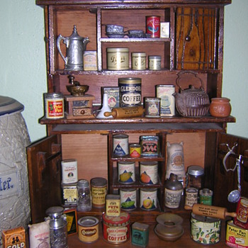 Salemans Sample Tins - Advertising