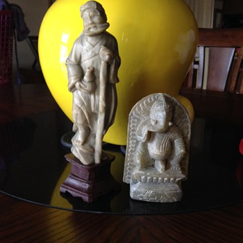 Oriental Marble Statues