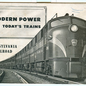 Modern Power For Today's Trains - Railroadiana