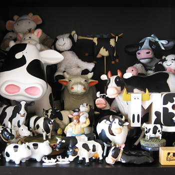 Collectible Cows  - Animals