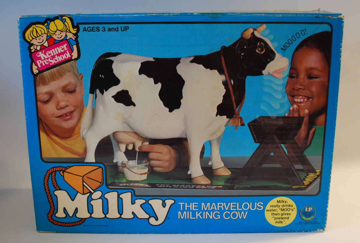 Milky The Marvelous Milking Cow By Kenner Collectors Weekly