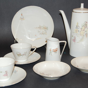 Tirschenreuth Z & Co. Midcentury coffee pot Set  - China and Dinnerware