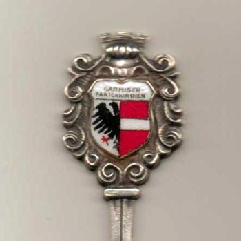 "Souvenir Spoon - ""Garmisch-Partenkirchen"" (Germany) - Advertising"
