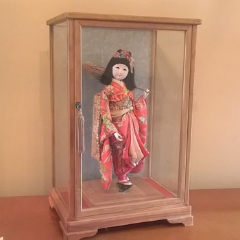 My Gofun meiji period doll