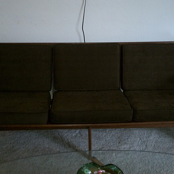 Newly acquired Mid Century Sofa - Made in Italy? - Mid Century Modern