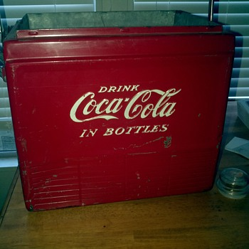 First Coke cooler