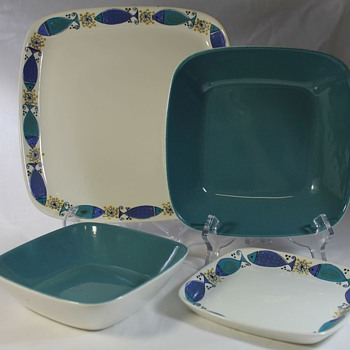 Figgjo Flint Turi Design Clupea Dinner Set - Art Pottery