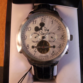 Elgin Mickey Mouse Watch - Wristwatches