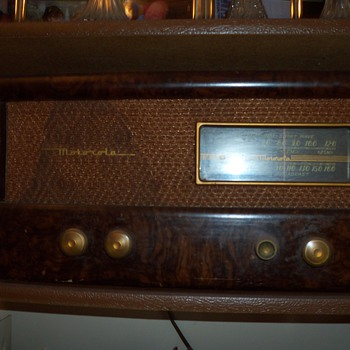 Motorola Radio and Shortwave