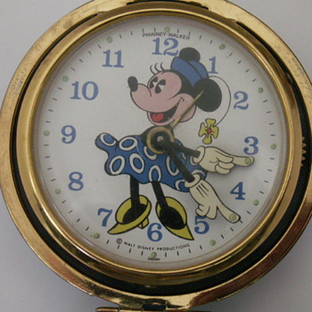 Minnie Mouse Travel Alarm - Wristwatches