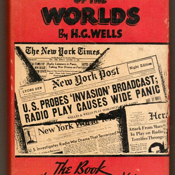 """The War of the Worlds"" by H.G. Wells - Books"