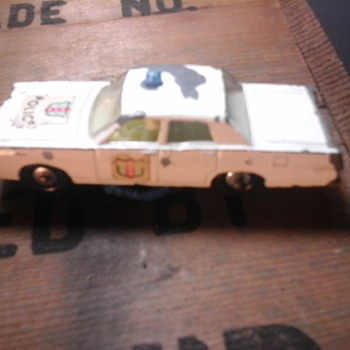 Matchbox Mercury Police Car