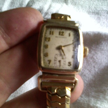 Hamilton driving watch from the late 30s? or 40s?
